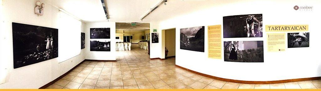 Galería de arte en Cajamarca, hotel Tartar